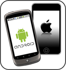 Android and iPhone work together at BustedAppZ!